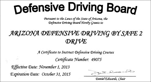 arizona defensive driver course teen